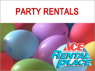 Party Rentals: Moon Bounce, Party Machines, Coolers, Party Games, Tents, Tables and Chairs